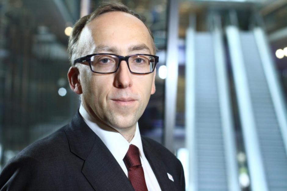 Jakub Karnowski, prezes PKP w radzie nadzorczej HSBC Bank Polska