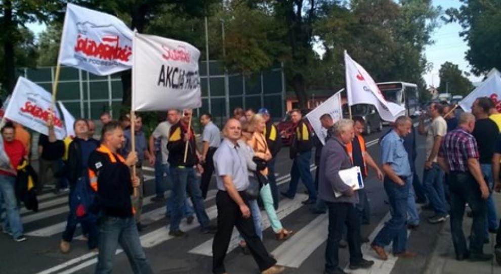 Protest w browarze Żywiec. Pracownicy bronią 70 miejsc pracy