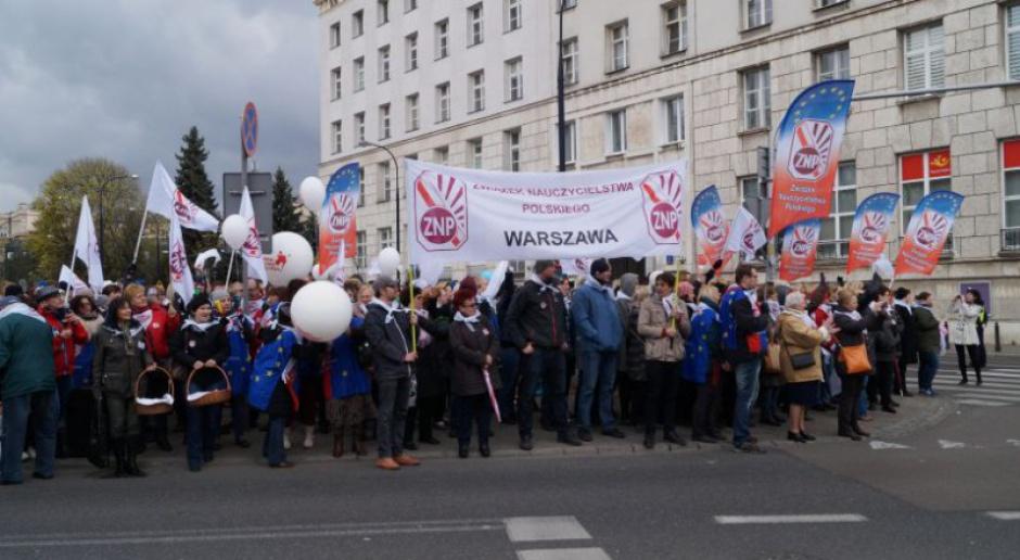 Broniarz, ZNP: Organizujemy manifestację 14 października. To ostatni protest przed radykalizacją działań