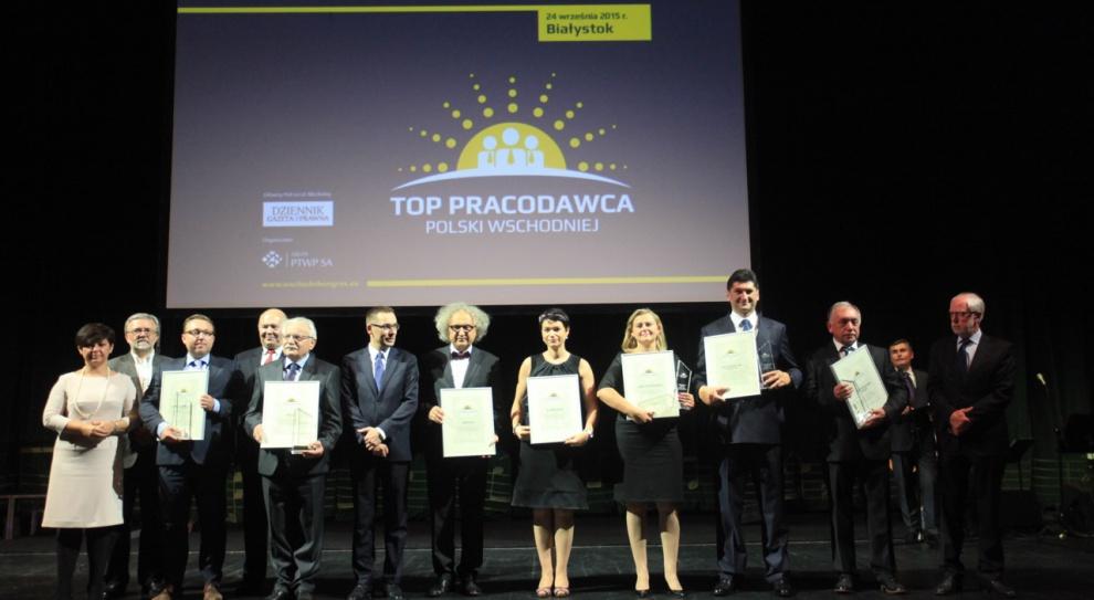 WKG 2015: Oto Top Pracodawcy Polski Wschodniej