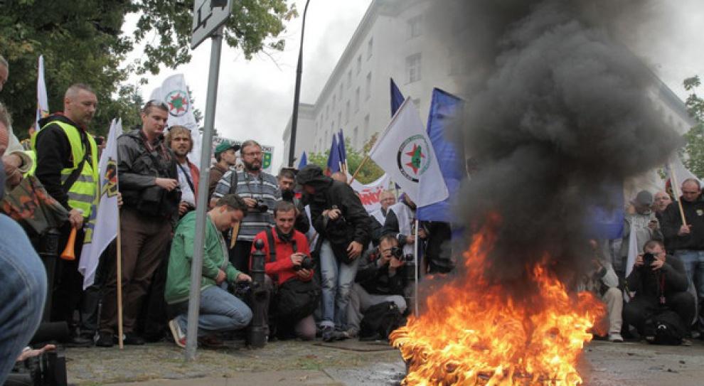 Kolejna górnicza demonstracja 13 października