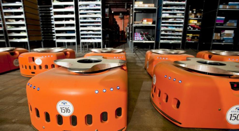 Setki robotów wkroczyły do Amazona pod Wrocławiem. Mają pomagać pracownikom
