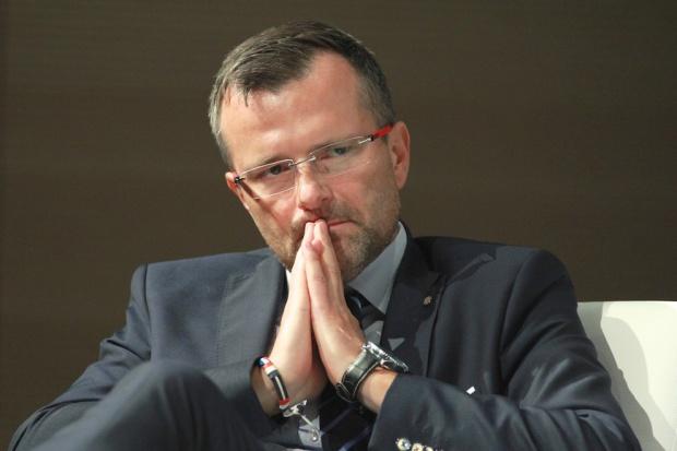 Moderatorem dyskusji był Tomasz Szpikowski, prezes Bergman Engineering