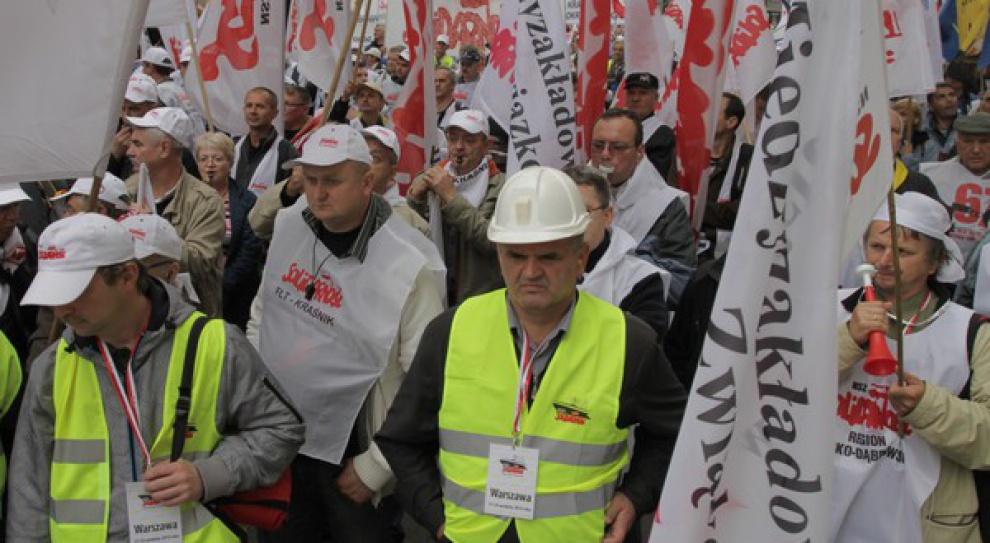 Na demonstracji w Warszawie pojawią się nie tylko górnicy