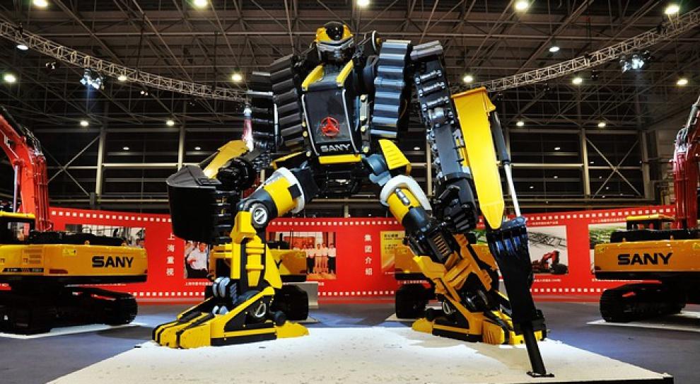 Robot w pracy. W Polsce to jeszcze nie standard