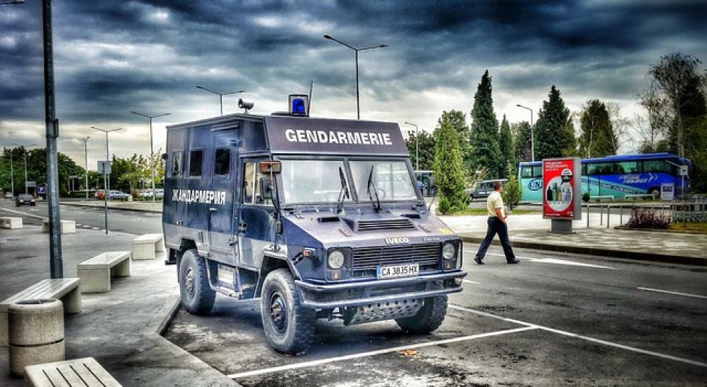 Protesty policjantów w Bułgarii przeciw cięciom płac