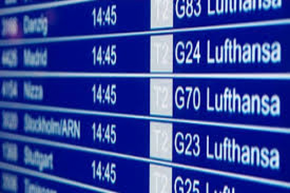 Strajk Lufthansy: W piątek ma być odwołanych 28 lotów z i do Polski