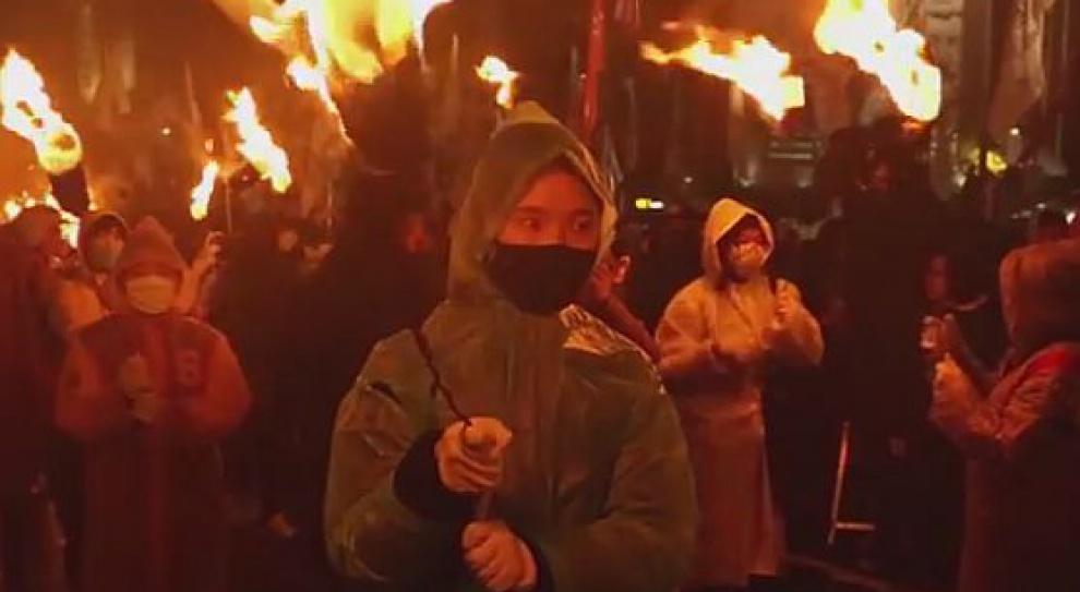 Protesty w Korei Południowej. Walki z policją: 130 tys. osób wyszło na ulicę