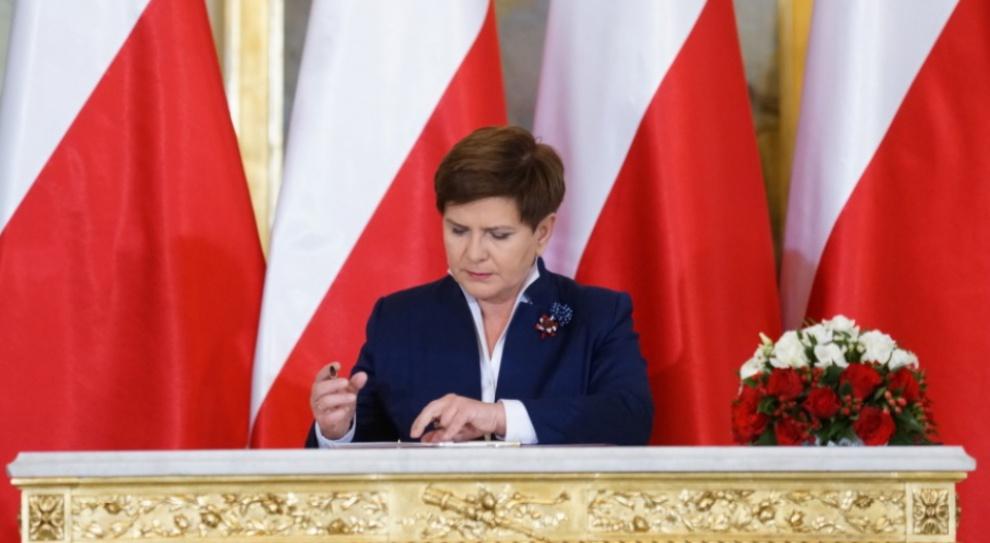 Prawo pracy w expose Beaty Szydło