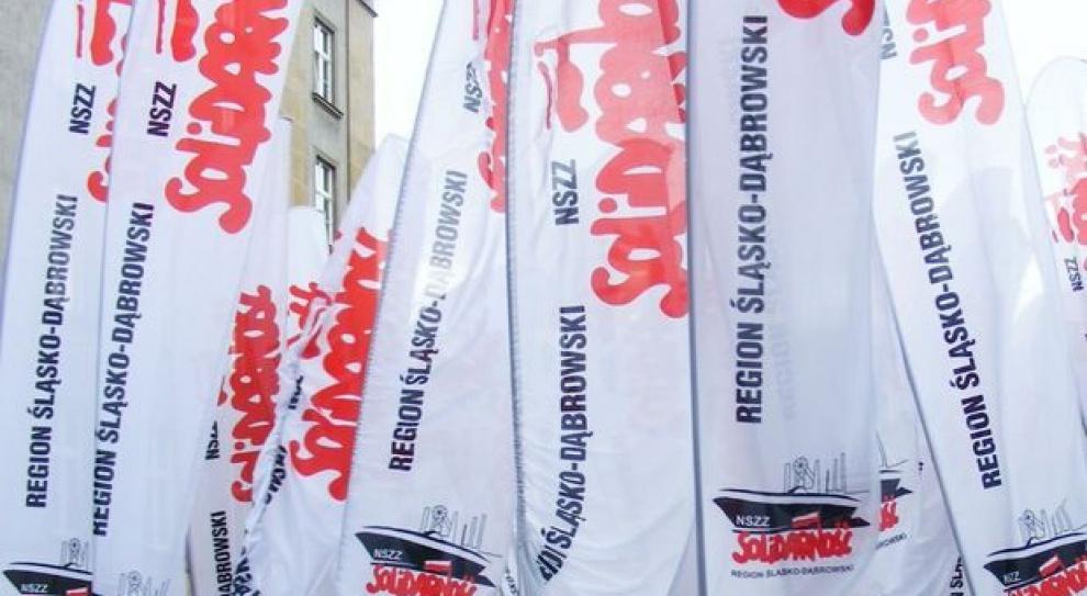 Protest w Hucie Bankowej. Pracownicy walczą o miejsca pracy