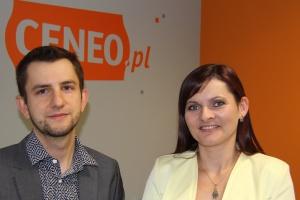 Anna Misiewicz i Krzysztof Rynkiewicz, menedżerowie Ceneo