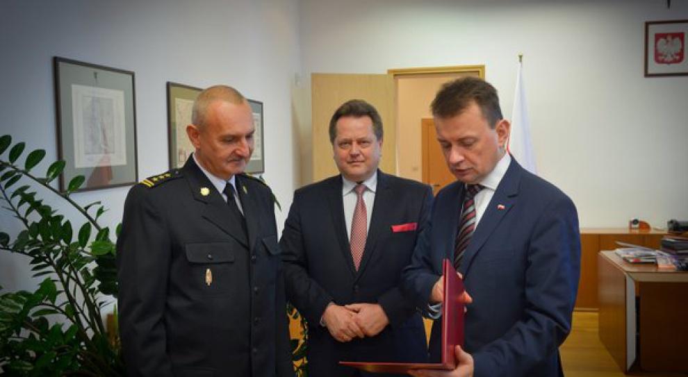 Leszek Suski szefem Państwowej Straży Pożarnej