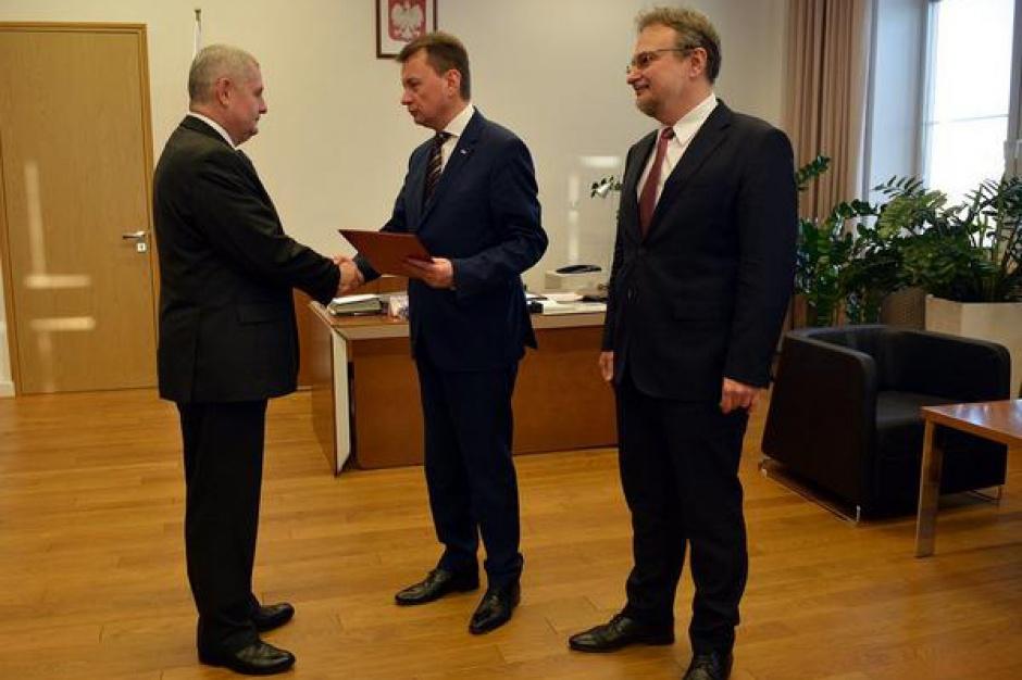 Marek Łapiński nowym komendantem głównym Straży Granicznej