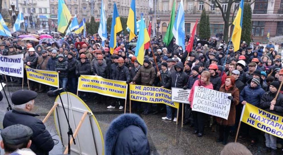 Ukraińscy górnicy zablokują granicę z Polską