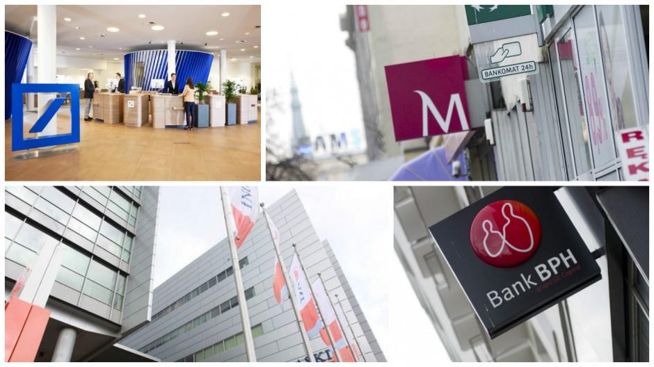 ING Bank Śląski, Bank Millennium, Deutsche Bank. Pracownicy tych banków są najlepsi