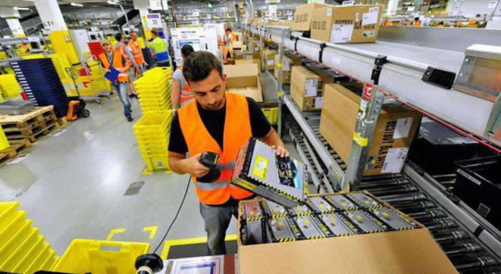 Amazon: Strajk w największym oddziale w Niemczech
