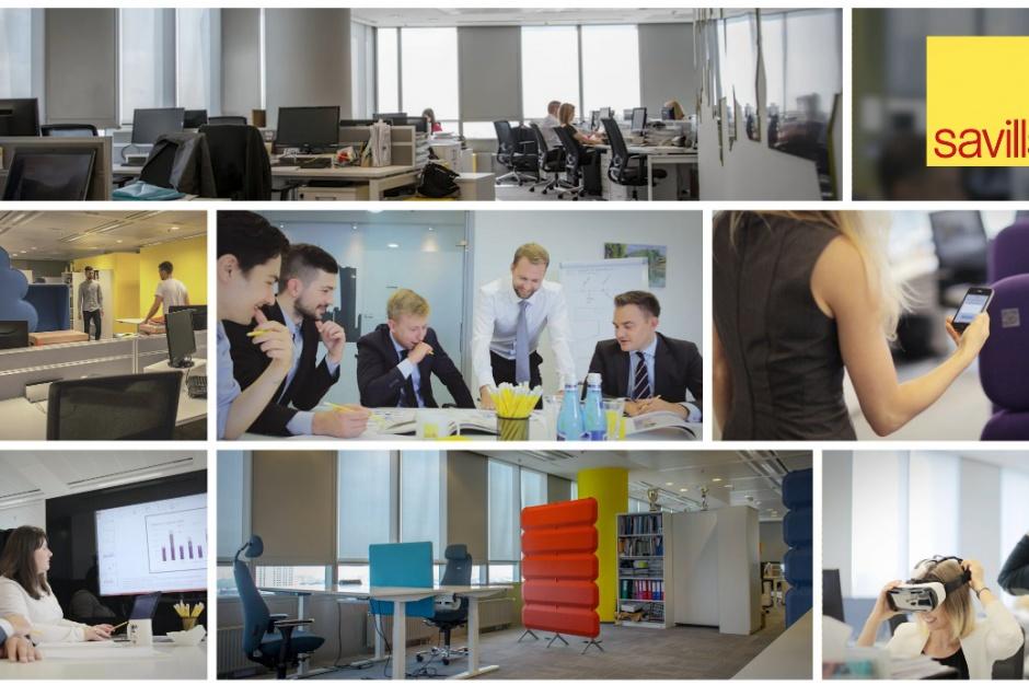 Savills testuje nową koncepcję aranżacji warszawskiego biura