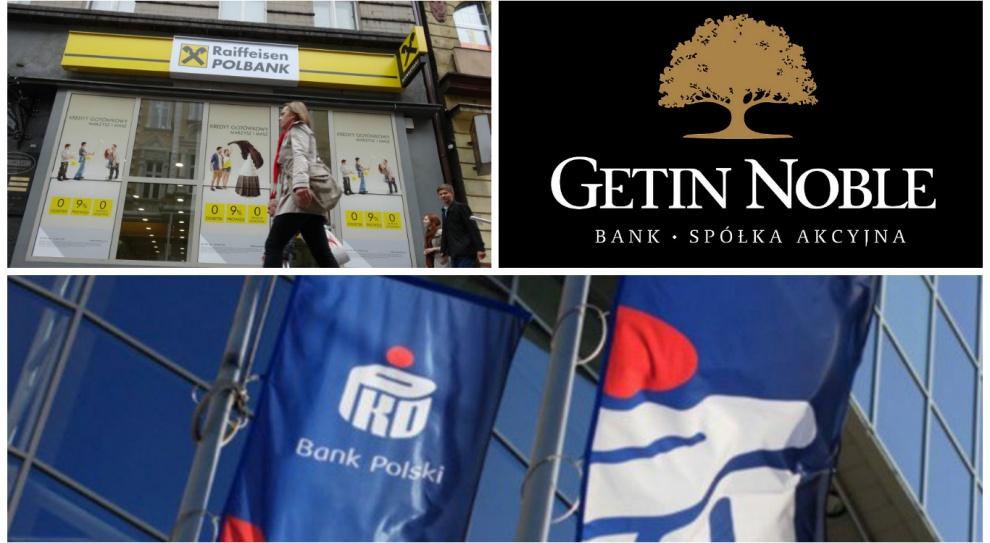 PKO BP, Getin Noble, Raiffeisen Bank. Oni zaplanowali zwolnienia grupowe