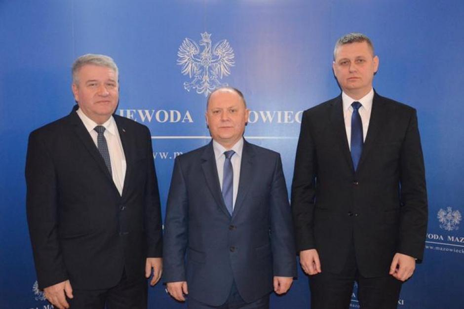 Sylwester Dąbrowski i Artur Standowicz wicewojewodami mazowieckimi