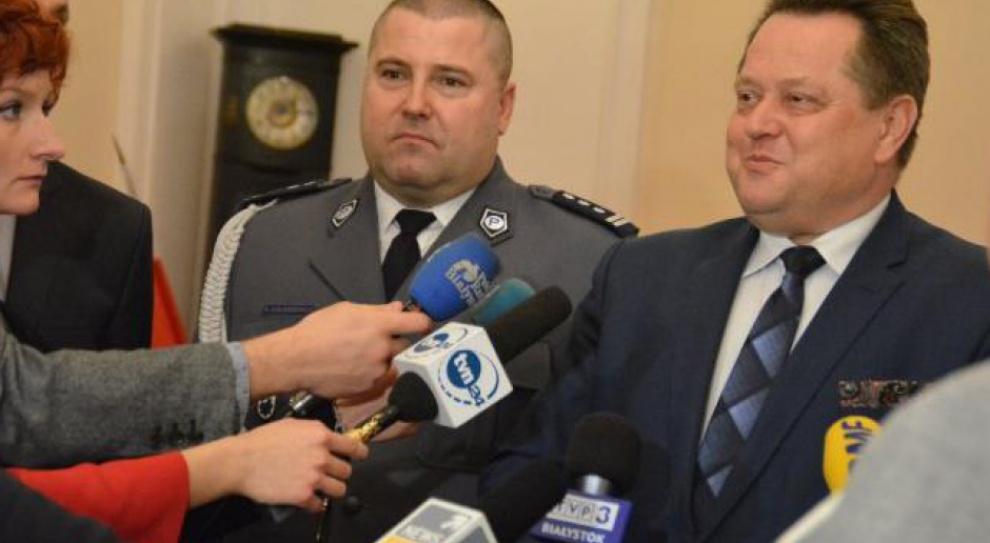Daniel Kołnierowicz nowym szefem podlaskiej policji