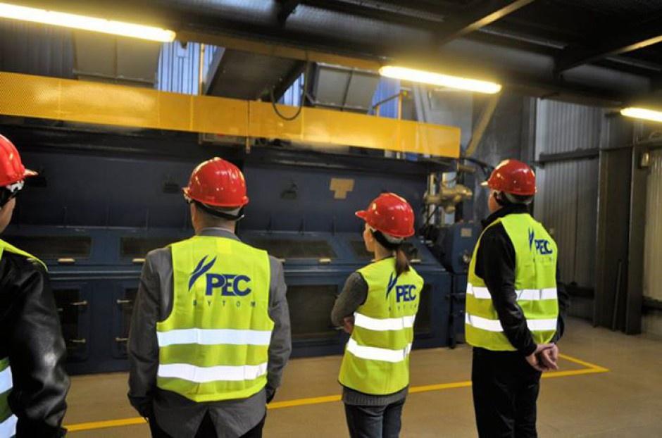 Pracownicy Przedsiębiorstwa Energetyki Cieplnej w Bytomiu dostali nagrody finansowe