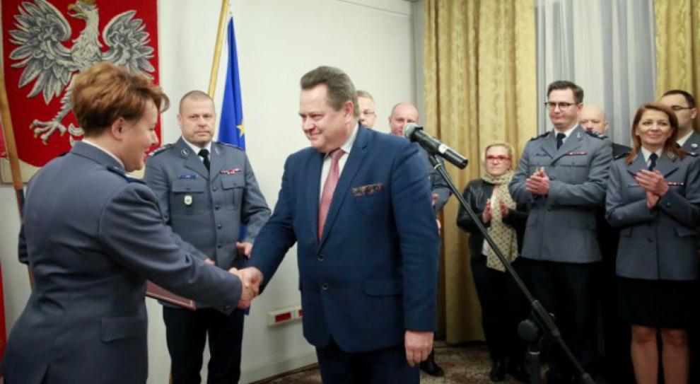 Helena Michalak nowym zastępcą komendanta głównego policji