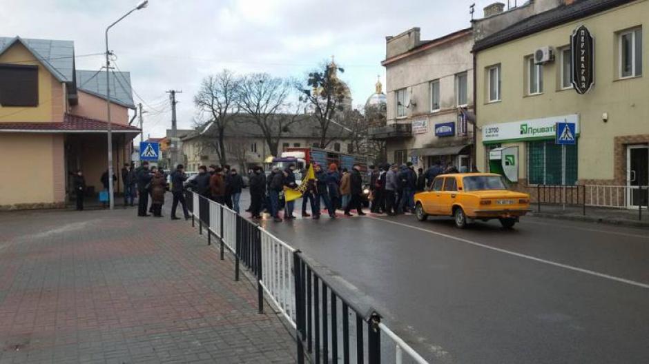 Blokada polskiej granicy przez ukraińskich górników