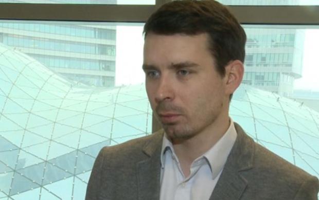 Łukasz Jańczak, analityk w Haitong Bank (Fot. Newseria)