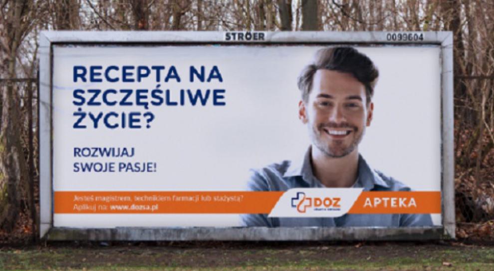 DOZ szuka pracowników przez reklamy zewnętrzne