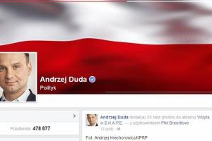 Światowi liderzy na Facebooku. Jak wypada prezydent Andrzej Duda?