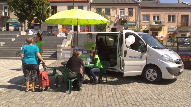 Bus rekrutacyjny Promedica Care