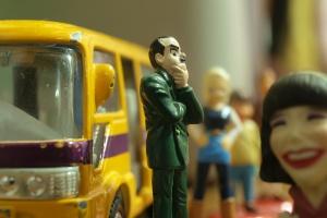 Wsiadaj bracie, to jest dzielny super bus... po pracę!
