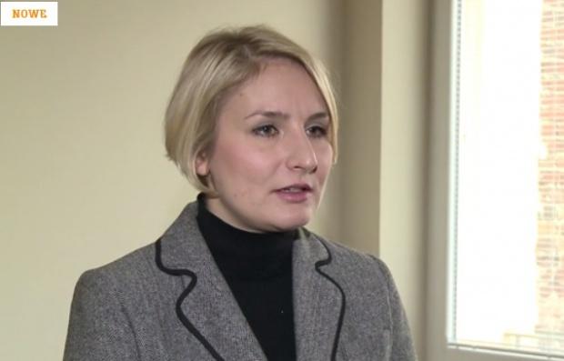 """Dominika Nawrocka, autorki książki """"Kobieta i Pieniądze"""""""