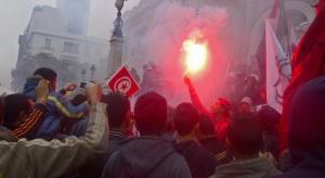 Tunezyjczycy protestują przeciwko bezrobociu