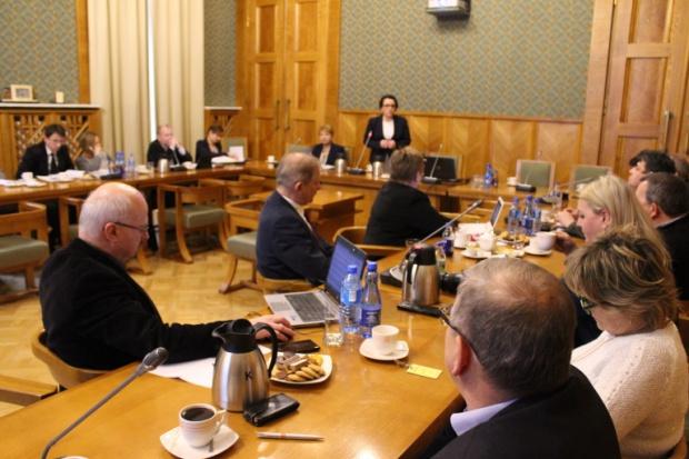 Spotkanie szefowej MEN ze związkowcami. (Fot.: men.gov.pl)