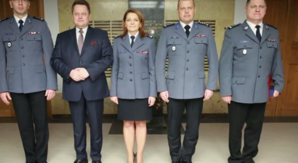 Zmiany w policji. Do Komendy Głównej trafili Jan Lach, Andrzej Szymczyk i Renata Skawińska