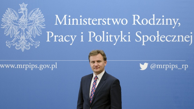 Bartosz Marczuk (Fot. mpips.gov.pl)