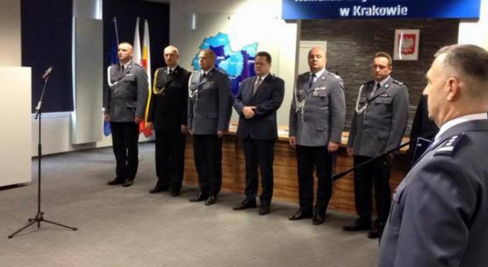 Tomasz Miłkowski nowym szefem małopolskiej policji