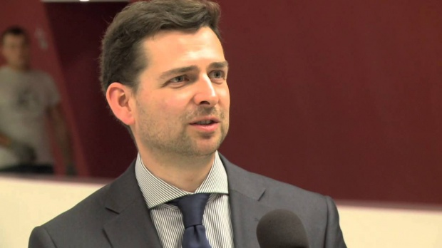 Jan Styliński, prezes zarządu Polskiego Związku Pracodawców Budownictwa (Fot.: Youtube).