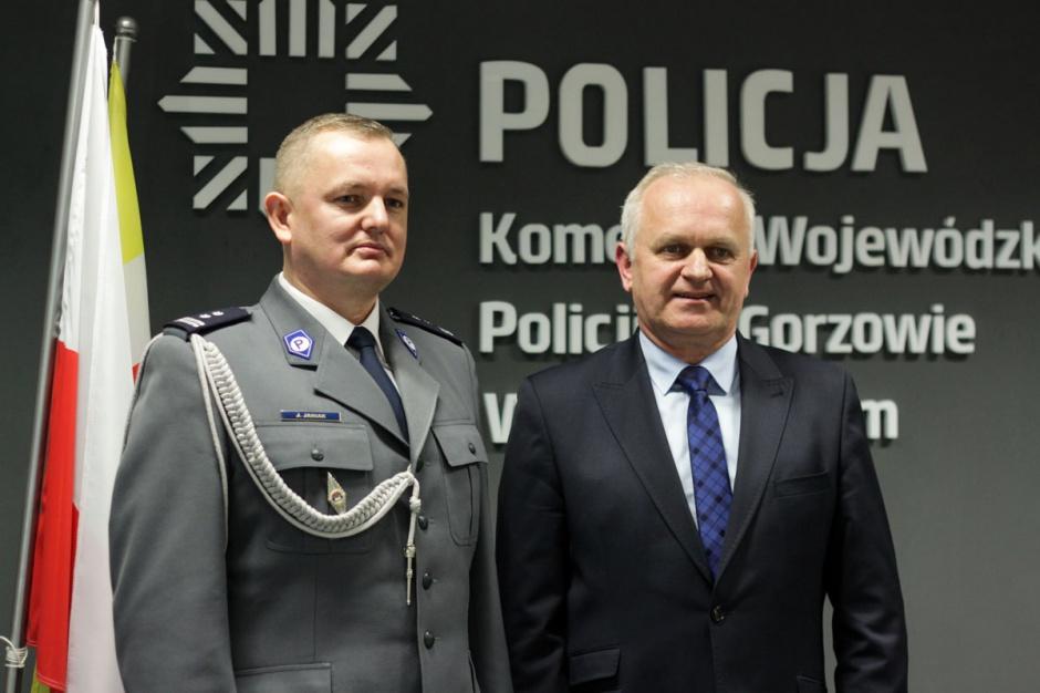 Mł. insp. Jarosław Janiak szefem lubuskiej policji