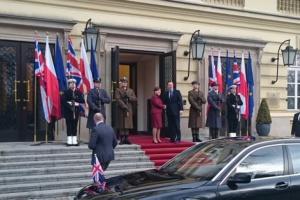 David Cameron w Polsce. Spotkał się z premier Beatą Szydło