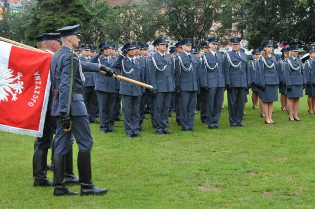 Reprezentacja krakowskiej służby więziennej. (fot. sw.gov.pl)