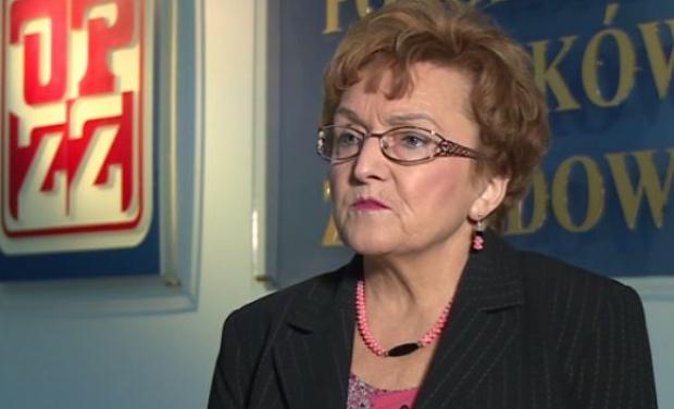 Wiesława Taranowska, OPZZ (Fot. Newseria)