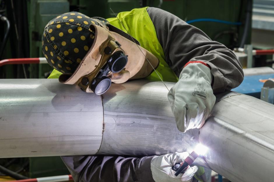 Praca spawacza zagrożona przez roboty?