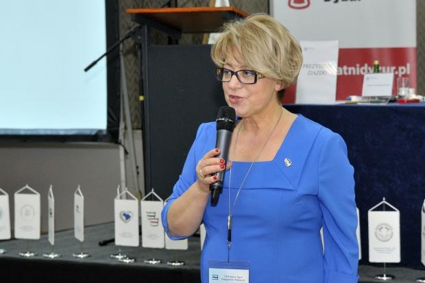 Zofia Małas - prezes Naczelnej Rady Pielęgniarek i Położnych (Fot. NRPiP)