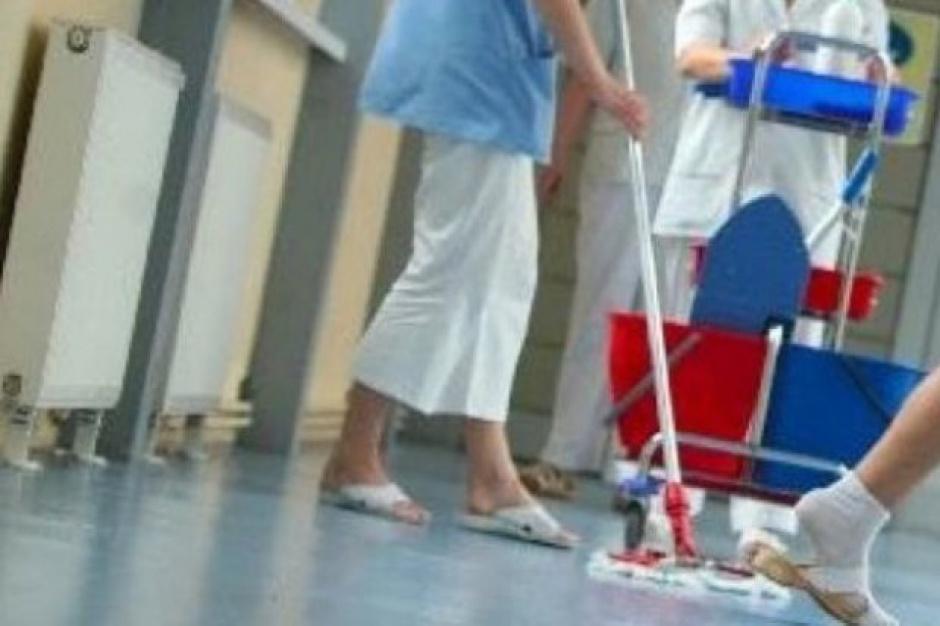 Biała-Podlaska: Strajkują pracownicy firmy sprzątającej szpital
