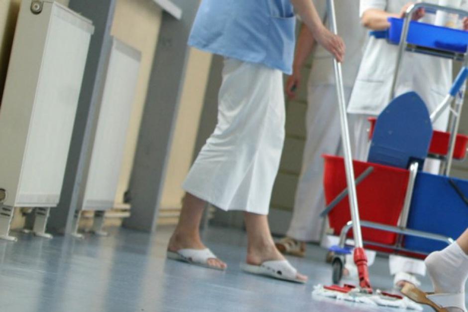 Sprzątaczki ze szpitala w Białej Podlaskiej nie dostały wypłat
