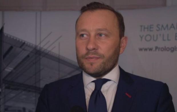 Paweł Sapek, senior vice president i country manager Prologis na Polskę(Fot. Newsrm.tv)