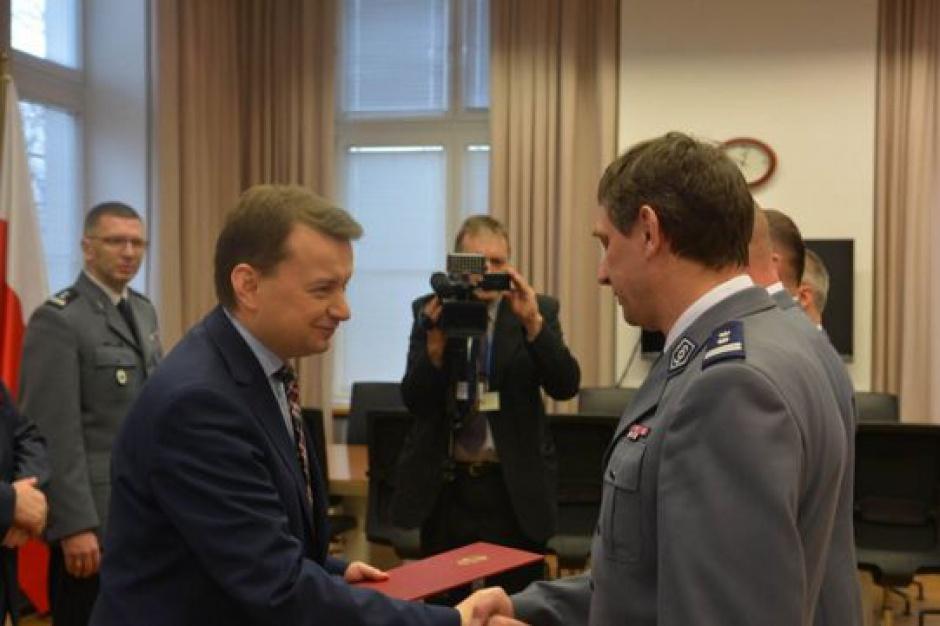 Nagrody pieniężne dla policjantów, którzy wytropili Kajetana P.