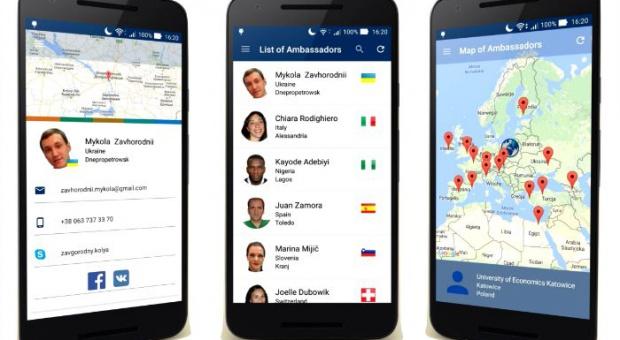 Specjalna aplikacja ma zachęcić obcokrajowców do studiowania w Katowicach